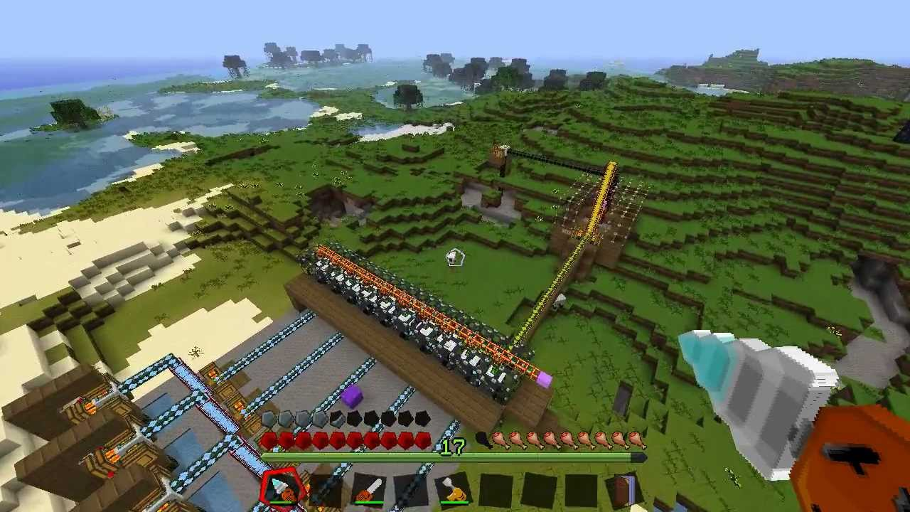Minecraft Industrial Craft Automated Factory