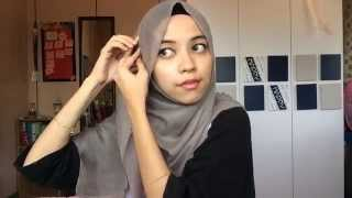 loose shawl tutorial   cotton wide shawl