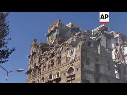 Heavy airstrikes by Saudi-led coalition pound Sanaa