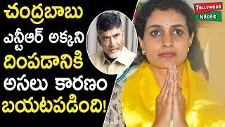 Latest News On Jr NTR Sister Suhasini | Suhasini Files Nomination Along With Nandamuri Balakrishna