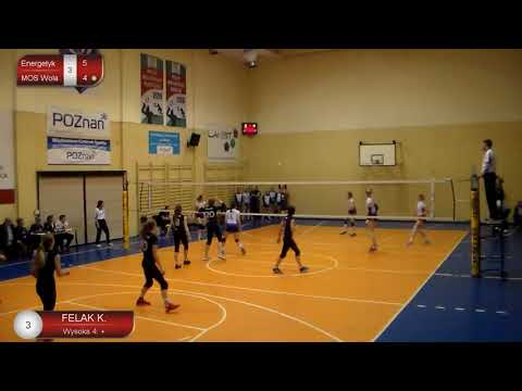 Klaudia Felak OUTSIDE HITTER Polish League (Youth League) 2017-2018 nr 3