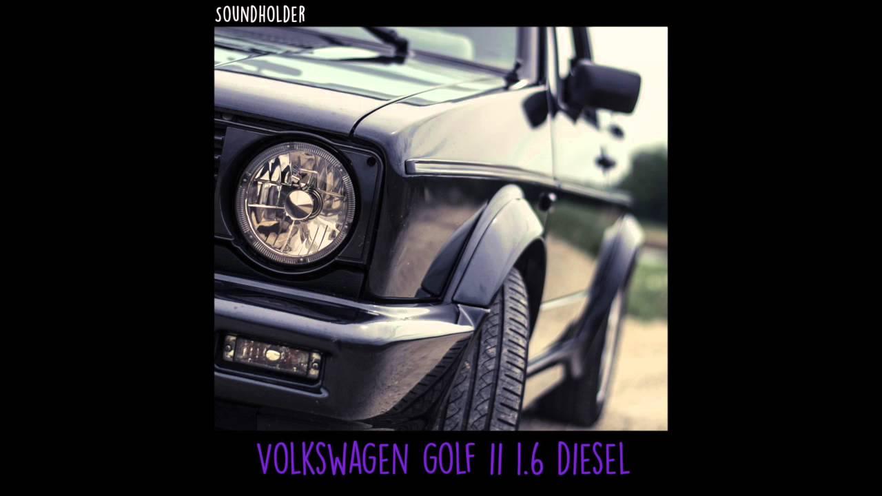 Car Engine Start Stop Sound Effect Volkswagen Golf Ii Soundholder
