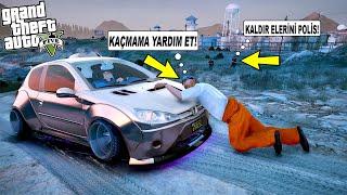 HAPİSTEN KAÇAN SERİ KATİL ARABAMI ÇALMAYA ÇALIŞTI!(POLİSİ ARADIM) - GTA 5