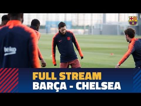 Live: Press conference and training ahead of Barça-Chelsea