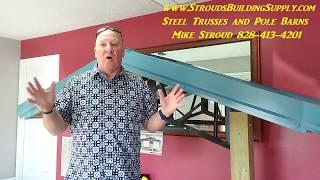 STEEL TRUSSES Metal Buildings, Pole Barns, HORSE BARNS