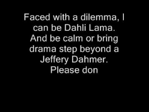 Eminem - Must be the ganja with lyrics