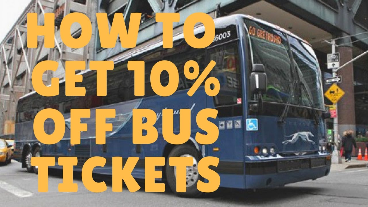 How To Instantly Get 10% Off Your Next Greyhound Bus Ticket!