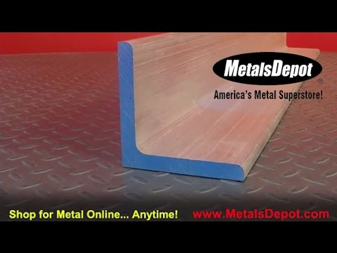 Metals Depot® - About 6061 Aluminum Angle