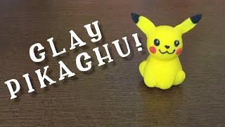 Clay Crafts - Pikachu
