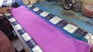 Silk Dupatta Ironing | Churidar Dupatta Iron | Laundry Shops in India | Ladies wear Iron