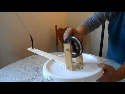 DIY Polar Ice Fishing Tip Up Make For Under Five Dollars