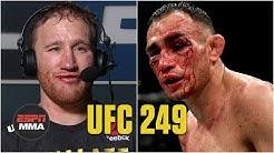 Justin Gaethje recaps win vs. Tony Ferguson   UFC 249 Post Show   ESPN MMA