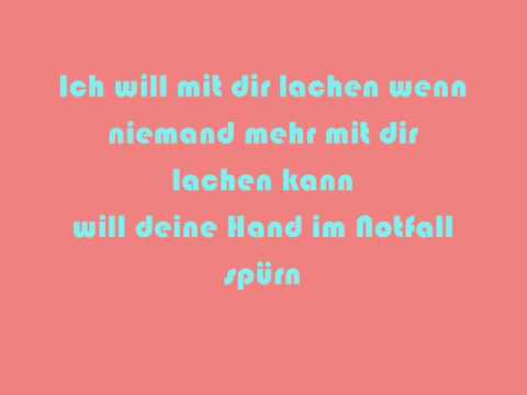 ich lieb dich songtext