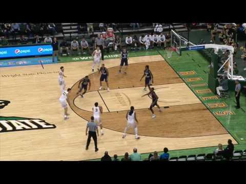 Wright State Basketball Highlight Video 2016-2017