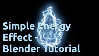 Simple Energy Effect - Blender Tutorial
