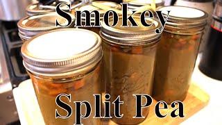 Canning  Smokey Split Pea & Ham Soup With Linda's Pantry
