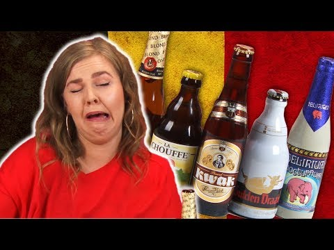 Irish People Taste Test Belgian Beer
