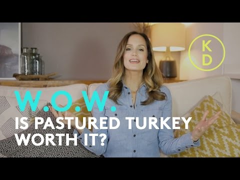 Is Pastured Turkey Worth It? Holistic Nutritionist Kim D'Eon weighs in.