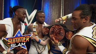 The New Day Celebrates Winning The Wwe Tag Team Titles: Wwe.com Exclusive, August 23, 2015
