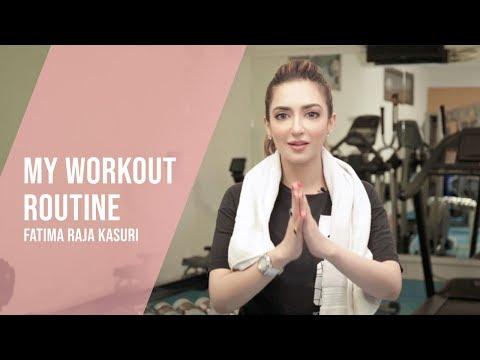 10 Minutes Workout | My Workout Routine | Health & Fitness | Vlog | Fatima Raja Kasuri thumbnail
