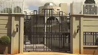 Gupta residence under fire