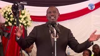 DP William Ruto's speech at Joseph Kamaru's funeral