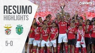 Highlights   Resumo: Benfica 5-0 Sporting (Supertaça Cândido de Oliveira)