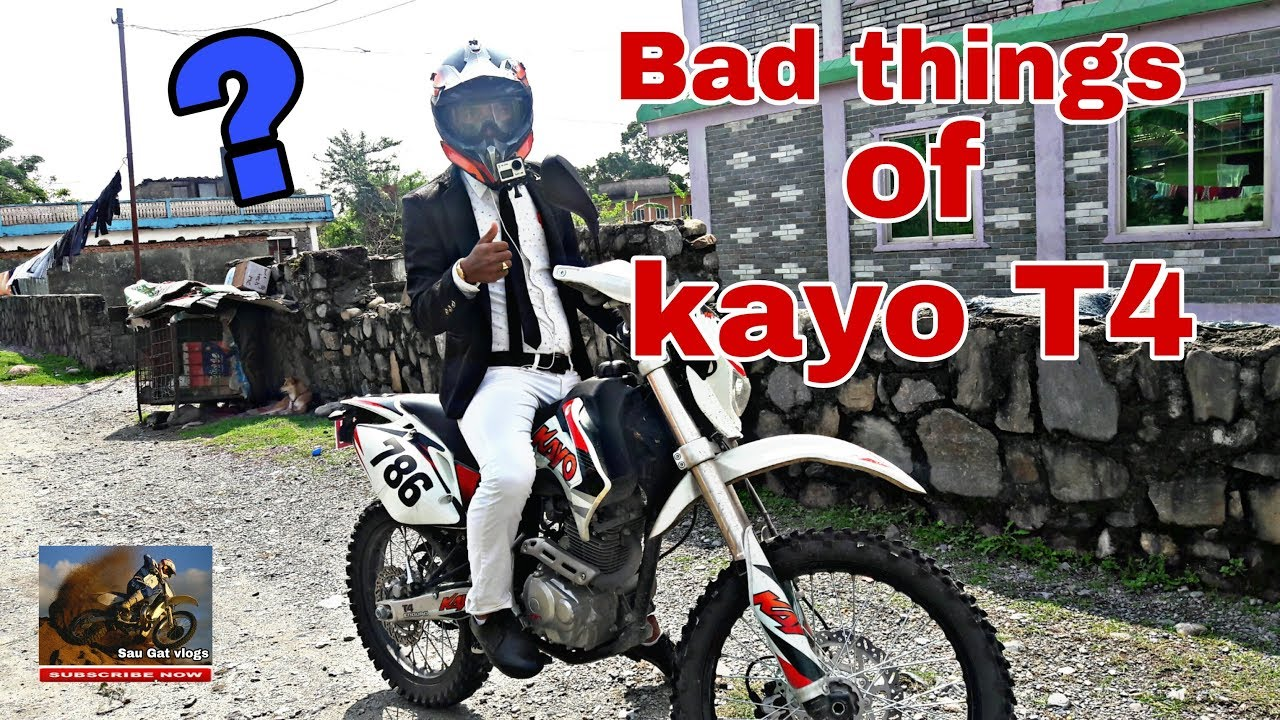 Bad Things About Kayo T4 Dirt Bike Episode 32 Youtube