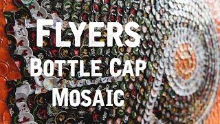 """Philadelphia Flyers"" - Bottle Cap Mosaic"