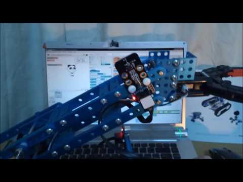Robotic arm with automatic zero position