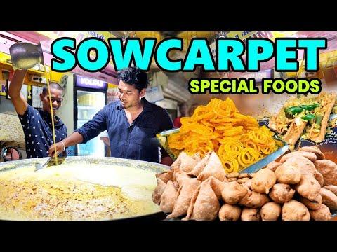 Sowcarpet Street Foods | Chennai Street Foods | IBC Tamil