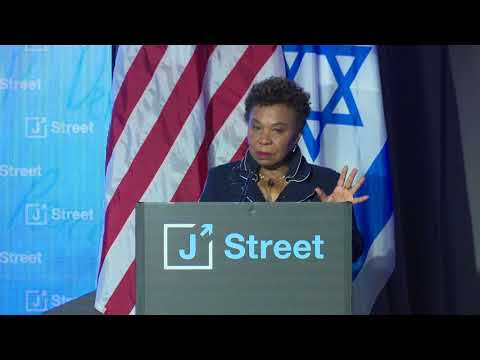 J Street Honors Congresswoman Barbara Lee with the 2018 Tzedek v'Shalom Award