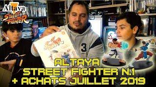 (EP82) Altaya Street Fighter colis n°1 + Achats Juillet 2019