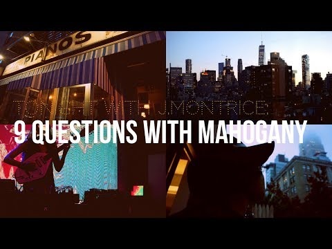 Interview with Mahogany @ Pianos in NYC I The Ludlow, Indochine,Lower East Side