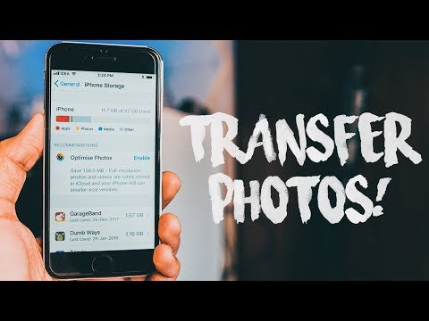 How To Transfer Photos From iPhone To Your Computer In 1 Click (2018)!