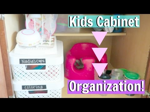 organize-with-me!-kids-cabinet-area-organization!