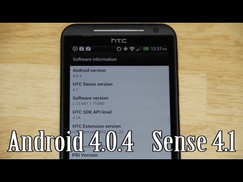 How To Update the HTC Evo 4G LTE to ROOTED Sense 4.1 Android 4.0.4 without the new hboot!