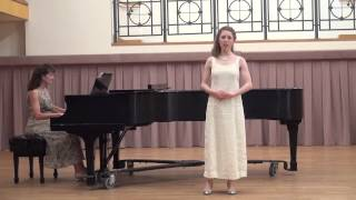 "Cailin Gwaltney: ""Long Time Ago"" April 21, 2015.  National Student Auditions, NATS Long Time Ago"