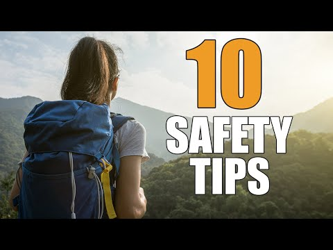 Backpacking Safety Tips (Top 10!)