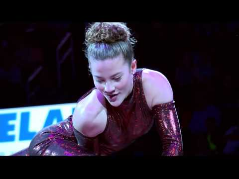 Sofie Dossi (Live @ the Chesapeake Energy Arena in Oklahoma City) (02-04-2017)