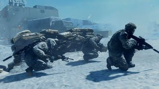 Awesome Winter Stealth Mission from Ghost Recon Future Soldier