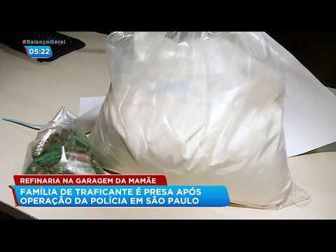 Polícia prende família de traficante em Campinas (SP)
