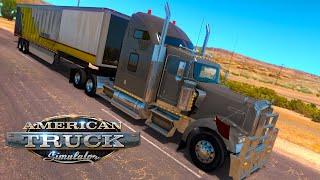 American Truck Simulation - Gypsum 34,500 lb | Farmington to Show Low | Gameplay #9