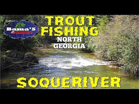 AMAZING!! Trout Fishing|North Georgia|Soque River For Brook, Rainbow And Brown Trout