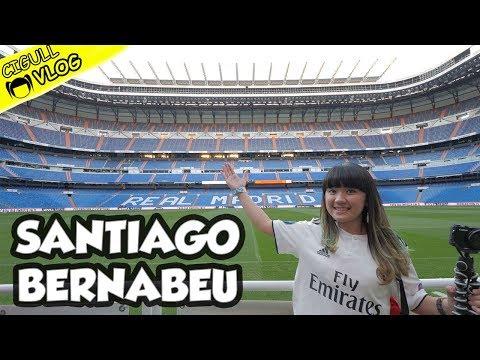 SANTIAGO BERNABEU STADIUM TOUR !! ❤