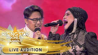 Umi Elvy Dan Danang [Mimpi Terindah] Duet Maut!   Live Audition   Rising Star Indonesia Dangdut