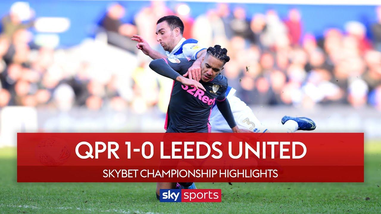 Controversial Nahki Wells goal sinks 10-man Leeds! | QPR 1-0 Leeds United | Championship Highlights