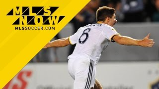 Steven Gerrard and Robbie Keane shine in San Jose rout | MLS Now on Location
