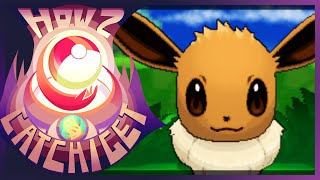How & Where to catch/get - Eevee in Pokemon X and Y