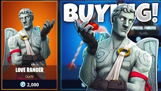 BUYING *NEW* CUPID SKIN in Fortnite: Battle Royale! (VALENTINE UPDATE)